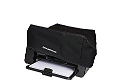 HP Envy 7640 / 7644 / 7645 Printer Dust Cover and Protector [Antistatic, Water Resistant, Heavy Duty Fabric, Black] by DigitalDeckCovers