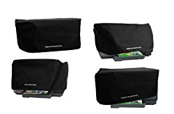 HP OfficeJet Pro 8610 / 8615 / 8620 / 8625 Printer Dust Cover [Antistatic, Water Resistant, Heavy Duty Black Fabric] by DigitalDeckCovers