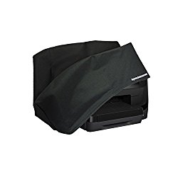 HP Officejet Pro 8710 Printer Dust Cover and Protector [Antistatic, Water Resistant, Heavy Duty Fabric, Black] by DigitalDeckCovers