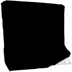 Kuzy – Black Full Cover for Apple iMac 27″ Dust Cover, Display Protector (A1312 & A1419) and 27-inch Thunderbolt Display (A1316 & A1407) – Black