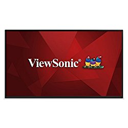 ViewSonic CDM4900R 49″ 1080p LED Commercial Display with USB Media Player, HDMI