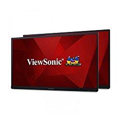 ViewSonic VG2753_H2 27″ Dual Pack Head-Only IPS 1080p Ergonomic Frameless Monitor HDMI, DisplayPort