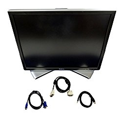 Dell 2007FP 20.1 Inch Ultrasharp 1600×1200 Flat Panel Monitor with Height-Adjustable stand – C9536