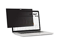 15 Inch MacBook Pro Privacy Screen Filter – Touch Bar (Model A1707) Apple Notebook, best Anti Glare Protector Film for data confidentiality – compare to 3M (MacPro 15″)