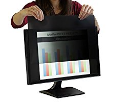 Akamai Office Products 25.0 Inch (Diagonally Measured) Privacy Screen Filter for Widescreen Computer Monitors-Anti Glare – PLEASE MEASURE CAREFULLY