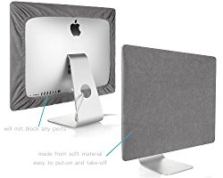 Kuzy – GRAY Screen Cover for iMac 27-inch Dust Cover Display Protector (Models: A1312 and A1419) – Grey 27″