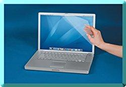 POSRUS (2 Pack) Antiglare Antifingerprint Ultrabook Universal Screen Protectors – Trim To Fit 12″ x 7.5″