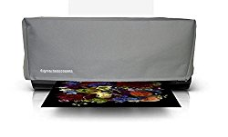 Printer Dust Cover for Epson Stylus Pro 3800 / 3880 / Surecolor P800 printers [Antistatic, Water Resistant, Heavy Duty Fabric, Silver] by DigitalDeckCovers