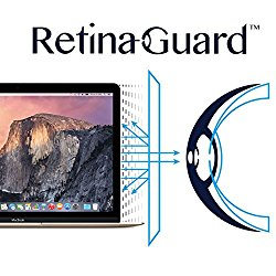 RetinaGuard Anti-UV, Anti-blue Light Screen protector for Macbook 12″- SGS & Intertek Tested – Blocks Excessive Harmful Blue Light, Reduce Eye Fatigue and Eye Strain