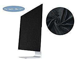 Wanty Full Display Dust Covers Screen Sleeve with Inner Soft Velvet fabric Lining for Apple iMac 27 inch
