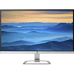 2017 Newest Flagship HP 27″ Widescreen IPS LED Full HD Monitor, LED Backlighting, 7ms response time, 178 degrees viewing angles, 10,000,000:1 dynamic contrast ratio, 2 HDMI, VGA Inputs, Natural Silver