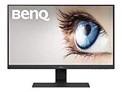 BenQ (GW2480) 24 Inch IPS 1080p Monitor, Ultra Slim Bezel, Low Blue Light, Flicker-free, Speakers, VESA ready, HDMI