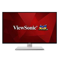 ViewSonic VX4380-4K 43″ 4K UHD IPS 2160p Frameless LED IPS Monitor HDMI, DisplayPort