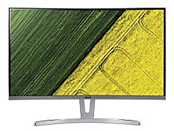 Acer ED273 wmidx 27″ Full HD (1920 x 1080) Curved 1800R VA Monitor with AMD FREESYNC Technology – 4ms | 75Hz Refresh Rate | HDMI, DVI & VGA port