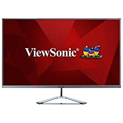 ViewSonic VX3276-MHD 32 Inch 1080p Frameless Widescreen IPS Monitor HDMI DisplayPort