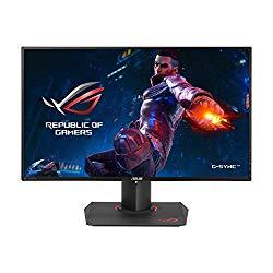 ASUS ROG PG279Q 27″ Gaming Monitor WQHD 1440p IPS 165Hz DisplayPort Adjustable Ergonomic EyeCare G-SYNC