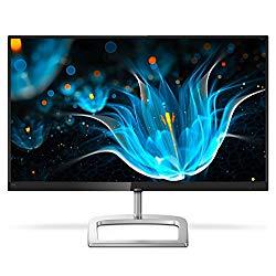 Philips 246E9QDSB 24″ Frameless Monitor, Full HD 1920×1080 IPS, 129% sRGB & 108% NTSC, FreeSync, HDMI/DVI-D/VGA, VESA