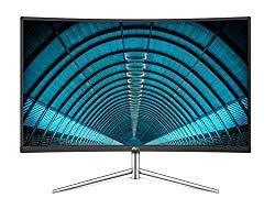 AOC C32V1Q 31.5″ Full HD 1920×1080 Monitor, Curved VA Panel, 4ms 75hz, Frameless, HDMI/DisplayPort/VGA, FlickerFree, Low Blue Mode, VESA