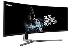 Samsung 49 inch CHG90 Gaming Monitor 144hz 1ms (LC49HG90DMNXZA) – Super Ultrawide, QLED, HDR, 1ms gaming monitor with Freesync