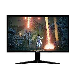 Acer Gaming Monitor 23.6″ KG241Q bmiix 1920 x 1080 1ms Response Time AMD FREESYNC Technology (2 x HDMI & VGA Ports)