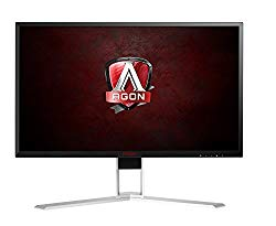AOC Agon AG241QX 24″ Gaming Monitor, QHD 1440P, G-Sync Compatible + Adaptive-Sync, 144Hz, 1ms, Quickswitch Keypad, Vesa, 4Yr Zero Dead Pixel, 1Yr Accidental Damage