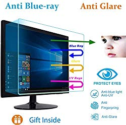 19 Inch Universal Anti Glare Monitor Screen Protector Fit 19″ Diagonal 16:10 Aspect Ratio  Widescreen Desktop Monitor, Reduce Reflection and Eyes Strain (16.1W x 10.1H inch)