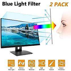 24 in Anti Blue Light Laptop Screen Protector, Anti Blue Light & Glare Filter Film Eye Protection Blue Light Blocking Screen Protector for 24″ Widescreen Desktop Monitor Display 16:9 (24IN)