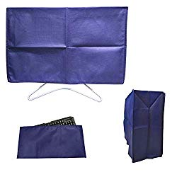3 Pieces Set Computer Dust Cover for 25″ 26″ 27″ Desktop PC, Monitor + CPU Tower + Keyboard Protector Covers, Panel Case Screen Dispaly Protective Sleeve