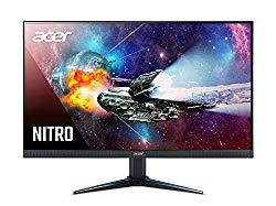 Acer Nitro VG240YU bmiipx 23.8″ WQHD (2560 x 1440) IPS Monitor with AMD Radeon FreeSync Technology (2 x HDMI 2.0 Ports & 1 x Display Port)