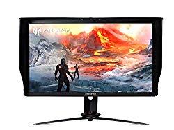 Acer Predator XB273K Sbmiprzx 27″ UHD (3840 x 2160) IPS NVIDIA G-SYNC Monitor, VESA Certified DisplayHDR 400, Quantum Dot, 144Hz, 4ms, DCI-P3, Delta E<2 (1 x Display Port & 1 x HDMI Port)
