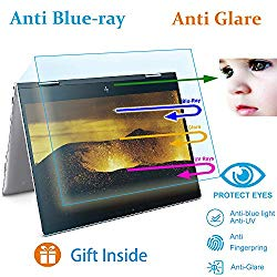 Eyes Protection Filter Fit 15″ HP Envy X360 15-BP Series 2-in-1 Touch-Screen Laptop Anti Blue Light  Glare Screen Protector,Reduces Eye Strain Help You Sleep Better