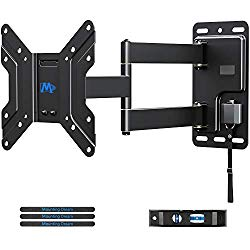 Mounting Dream Lockable RV TV Mount for 17-39 inch, Some up to 43 inch TV, RV Mount on Camper Motor Home Boat Truck, Full Motion Unique One Step Lock Design RV TV Wall Mount, 200mm VESA 44 lbs. MD2210