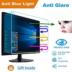 MUBUY 17″ Eyes Protection Anti Blue Light Anti Glare Screen Protector fit 17 Inches 5:4 Widescreen Desktop Monitor Screen (13.3″x10.6″). Reduces Digital Eye Strain Help You Sleep Better