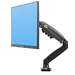 """NB North Bayou Monitor Desk Mount Stand Full Motion Swivel Monitor Arm with Gas Spring for 17-27""""Monitors(Within 4.4lbs to 19.8lbs) Computer Monitor Stand F80"""